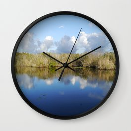 Everglades Serenity Wall Clock