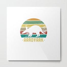 Aardvark African Animal Love Aardvarks Metal Print