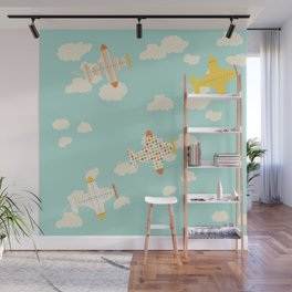 Flying By Wall Mural