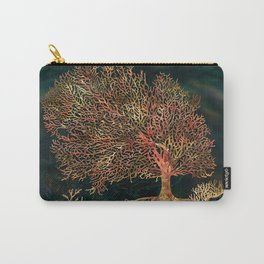 Underwater Fan Coral Tree Landscape Carry-All Pouch