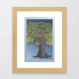 ALDER Framed Art Print