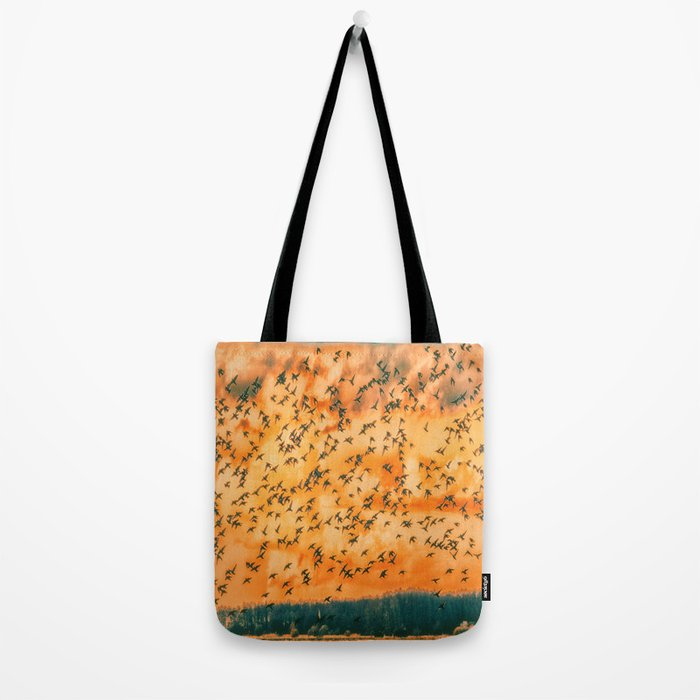 Birds flying skills Tote Bag