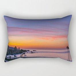 Dawn Over Corona Del Mar Rectangular Pillow