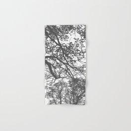 Grey Trees Abstract Hand & Bath Towel