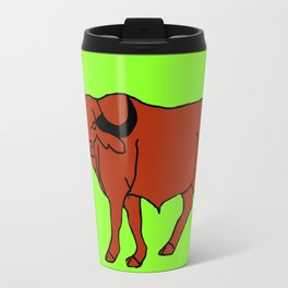 The Imposing Water Buffalo Travel Mug