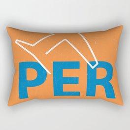PER Perth airport code Rectangular Pillow