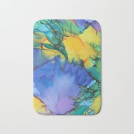 Purple Bird of Paradise Bath Mat