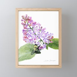 Lilac Love by Teresa Thompson Framed Mini Art Print