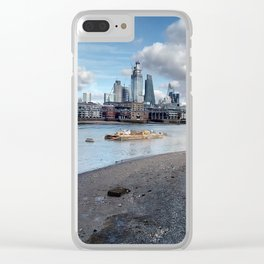 London South Bank. Clear iPhone Case