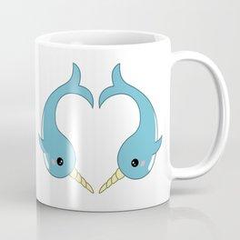 Narwhal heart Coffee Mug