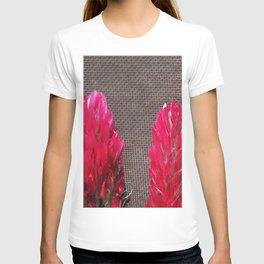 field flowers detail T-shirt