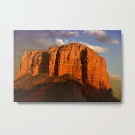 COURTHOUSE ROCK - SEDONA ARIZONA Metal Print