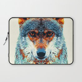 Wolf - Colorful Animals Laptop Sleeve