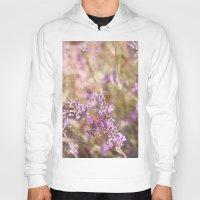 lavender Hoodies featuring Lavender by Tina Sieben