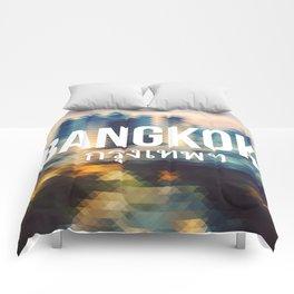 Bangkok - Cityscape Comforters