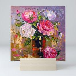 Bouquet of roses Mini Art Print