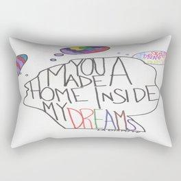 You Made A Home Inside My Dreams Rectangular Pillow