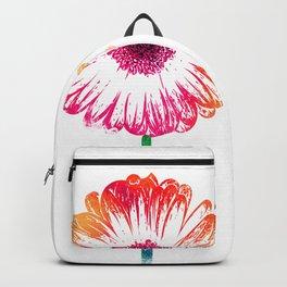 Gerbera flower Backpack