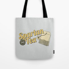 Spartan Tea Tote Bag