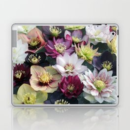 Christmas Spring Flower Floral Flora Eclectic Mix Color Laptop & iPad Skin