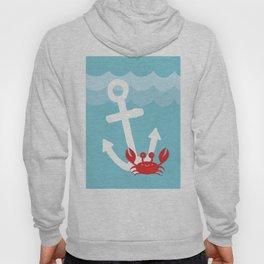 Anchor's Away Crab Hoody