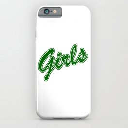 Girls, friends gift, gift for girlfriend, friends tv show iPhone Case