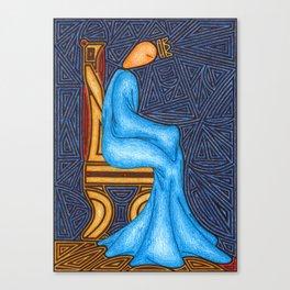 Sad King Canvas Print