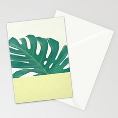 Monstera Dip II Stationery Cards