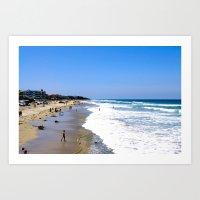 Imperial Beach View Art Print