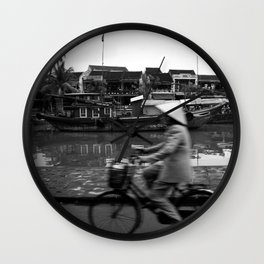 Vietnam's bycicle Wall Clock