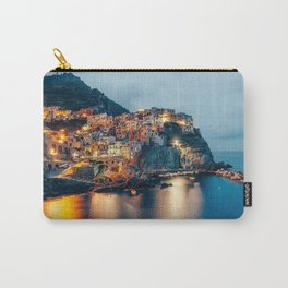 Manarola village at Night Carry-All Pouch