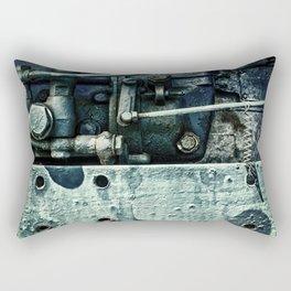Engine Block Inner Workings Rectangular Pillow