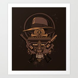 Fortune & Glory Art Print