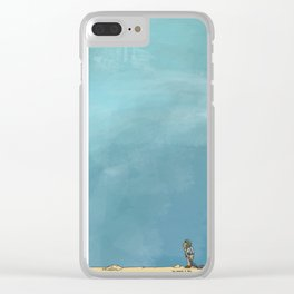 The Longing Is Real Clear iPhone Case