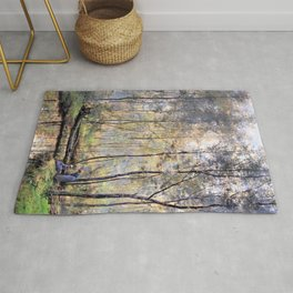 Hendrik Willem Mesdag - Riverbank - Digital Remastered Edition Rug