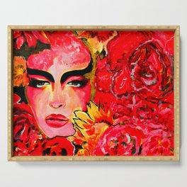 Gaia    #Society6  #decor  #buy art Serving Tray