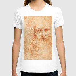 "Leonardo da Vinci ""Self-portrait in 1512"" T-shirt"