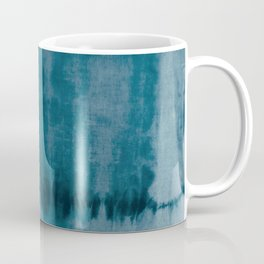 Tye Dye Denim Coffee Mug