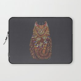 Maine Coon Cat Totem Laptop Sleeve