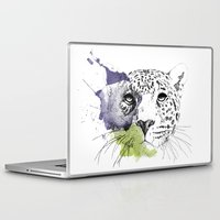 cheetah Laptop & iPad Skins featuring Cheetah by zoza