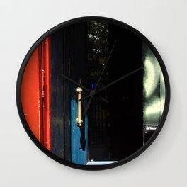 Puertas Wall Clock