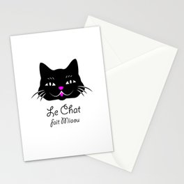The Cat Says Meow! Stationery Cards