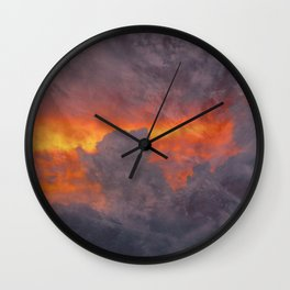 pyrrhic Wall Clock
