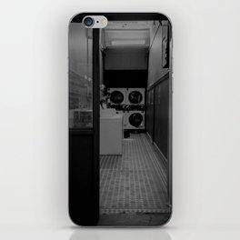 The Laundromat B&W iPhone Skin