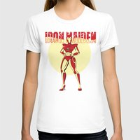 iron maiden T-shirts featuring Iron Maiden by wokinor