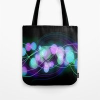 dna Tote Bags featuring DNA by Dark-Wolf-Studios