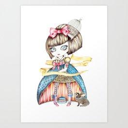 Carnivale Blythe Art Print