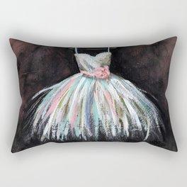Ballerina Dress 3 - Painting Rectangular Pillow