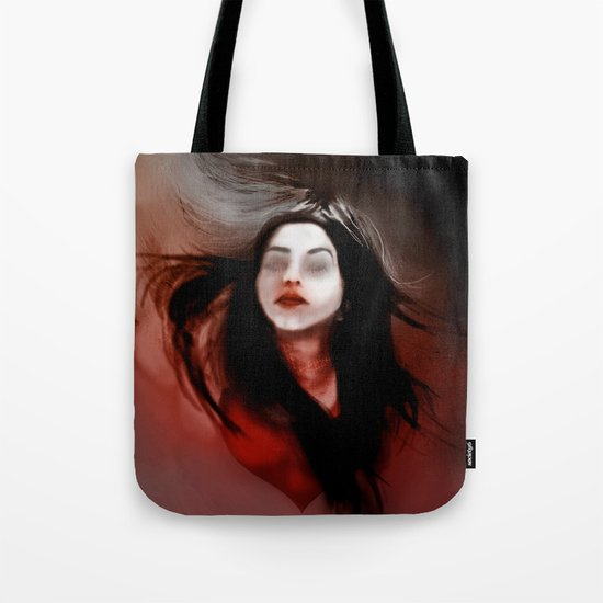 Blind love/I'll pull out my heart Tote Bag