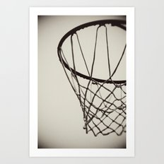 Nothing but Net Art Print